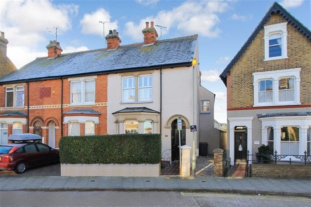 Thumbnail Terraced house for sale in Nelson Road, Whitstable