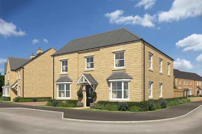 "Thumbnail Detached house for sale in ""Eden"" at Popes Piece, Burford Road, Witney"