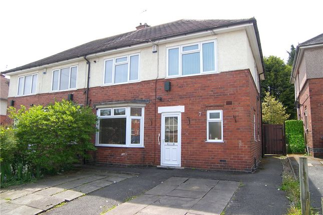 Thumbnail Semi-detached house for sale in Wheatley Avenue, Somercotes, Alfreton