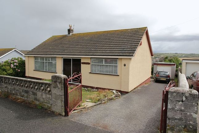 Thumbnail Detached bungalow for sale in Droskyn Way, Perranporth