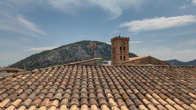 Attic Views of Spain, Mallorca, Pollença, Pollença Pueblo