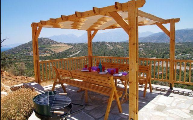 Villa Jasmine Outside Dining Area & View