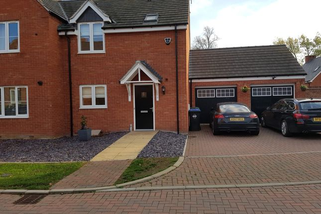 Thumbnail Semi-detached house to rent in Swift Avenue, Eden Park, Rugby