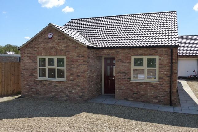 Thumbnail Detached bungalow for sale in Basin Road, Outwell, Wisbech