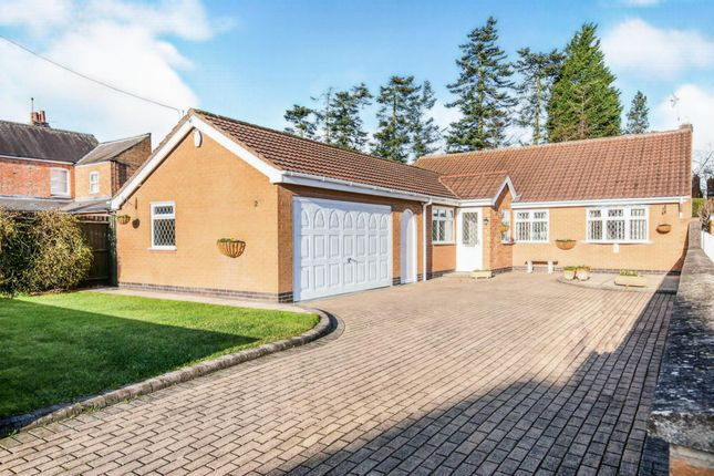 Thumbnail Detached bungalow for sale in Warwick Road, Littlethorpe, Leicester