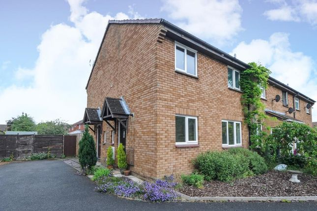 Thumbnail Terraced house to rent in The Moors, Thatcham