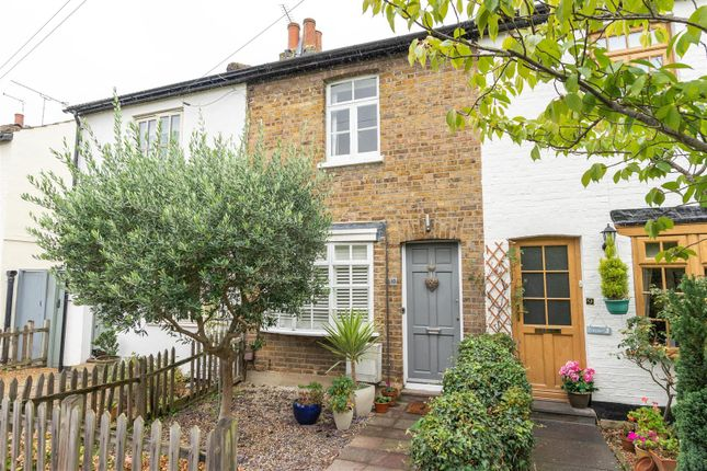 Thumbnail Terraced house for sale in Spring Gardens, West Molesey