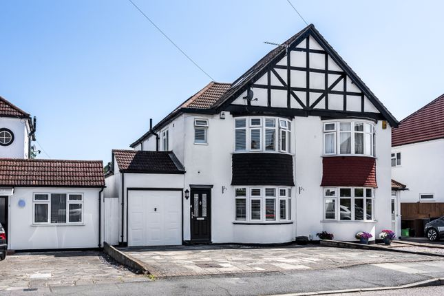 Thumbnail Semi-detached house for sale in Queensway, West Wickham