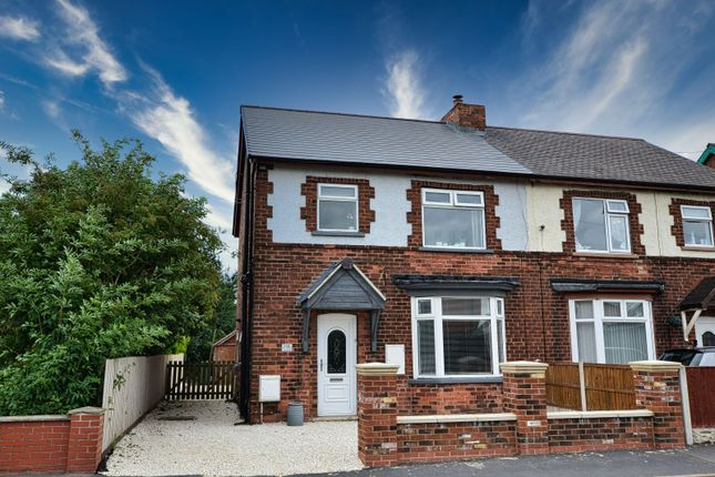 Thumbnail Semi-detached house for sale in High Street, Burringham, Scunthorpe