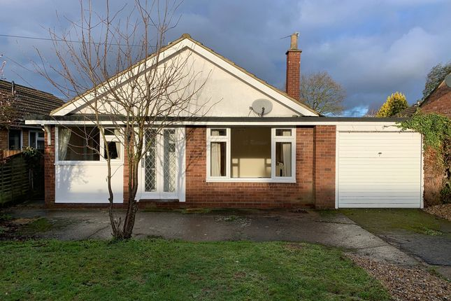 Thumbnail Detached bungalow for sale in Fiddlers Lane, East Bergholt, Colchester
