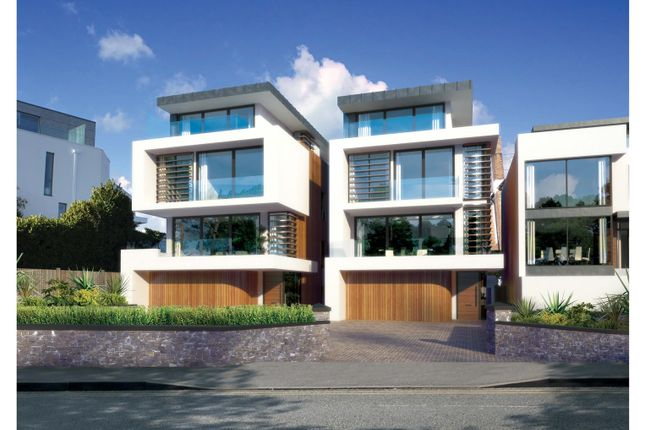 Thumbnail Detached house for sale in Whitecliff Road, Whitecliff, Poole