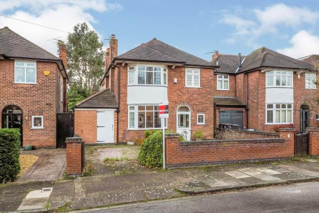 Thumbnail Detached house for sale in Grasmere Road, Beeston, Nottingham, Nottinghamshire