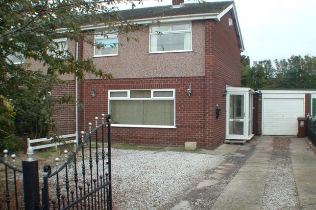 Thumbnail Semi-detached house for sale in Hampton Avenue, Pentre, Nr Sandycroft