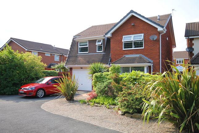 Thumbnail Detached house for sale in Coppice Green, Westbrook, Warrington
