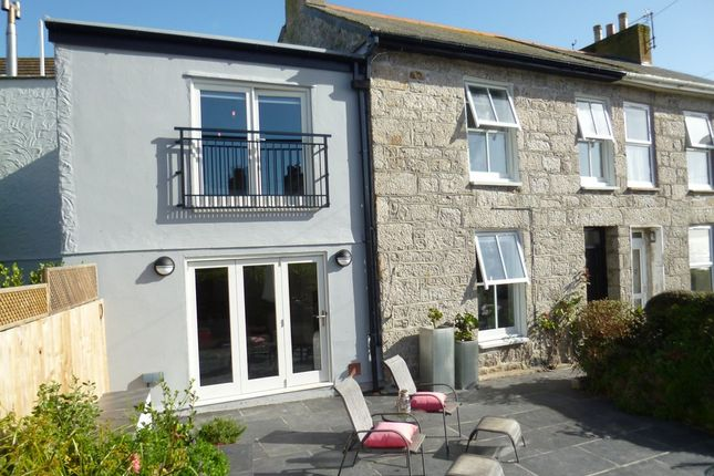 Thumbnail Terraced house for sale in Dumbarton Terrace, Mousehole, Penzance