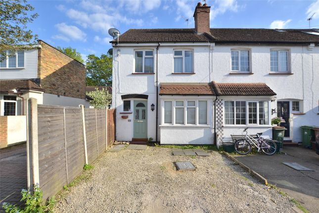 Thumbnail End terrace house for sale in Upper Road, Wallington, Surrey