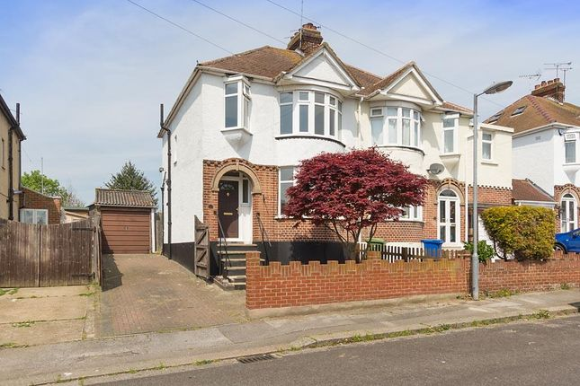 Thumbnail Semi-detached house to rent in Eastwood Road, Sittingbourne