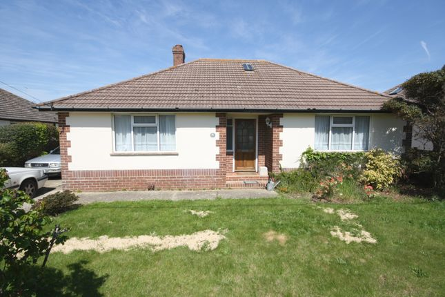 Thumbnail Detached bungalow for sale in Park Road, Milford On Sea