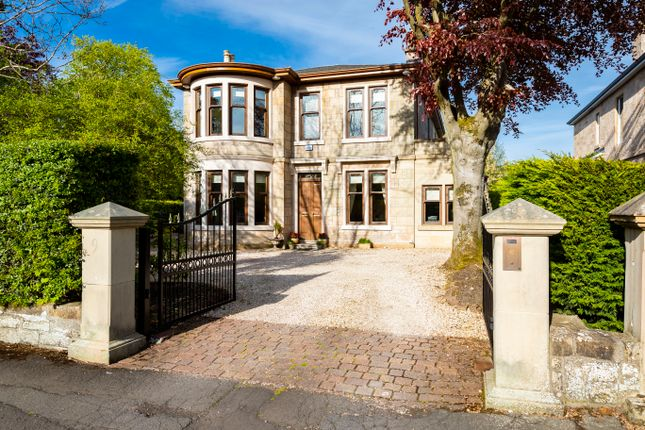 Thumbnail Detached house for sale in Victoria Road, Lenzie, Glasgow