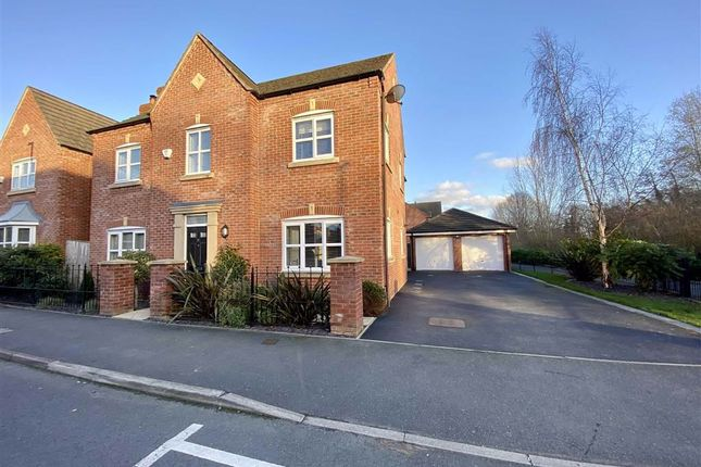Thumbnail Detached house for sale in Maesgwyn Road, Wrexham