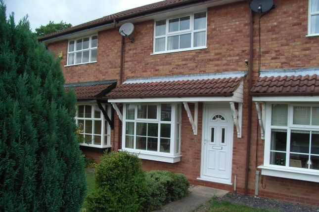 Thumbnail Terraced house to rent in Lordswood Close, Redditch