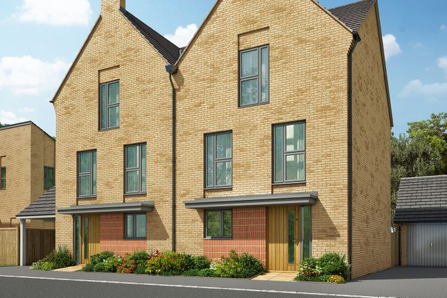 """Thumbnail Detached house for sale in """"The Foxton"""" at Heron Road, Northstowe, Cambridge"""