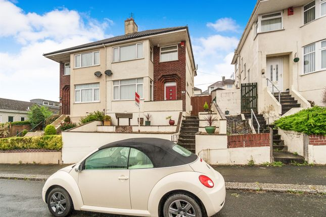 Thumbnail Semi-detached house for sale in Bridwell Road, Plymouth