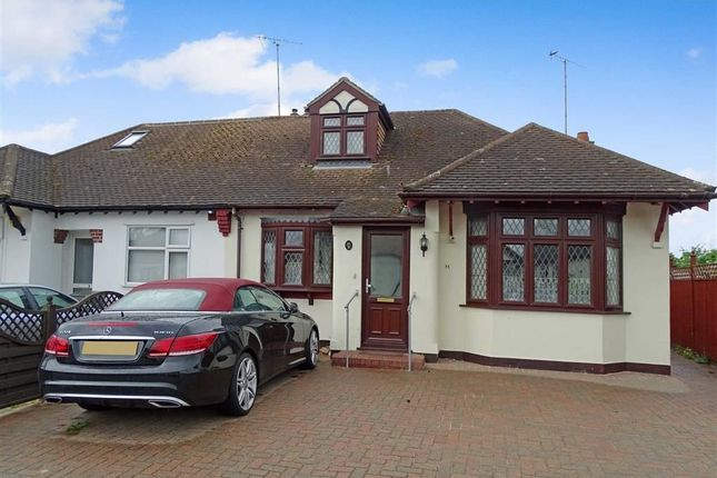 Thumbnail Semi-detached bungalow for sale in Burnside Crescent, Chelmsford, Essex