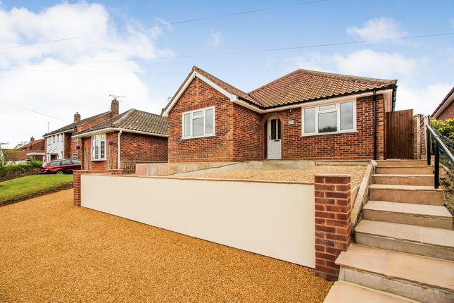 Thumbnail Detached bungalow for sale in Highfield Close, Thorpe St. Andrew, Norwich