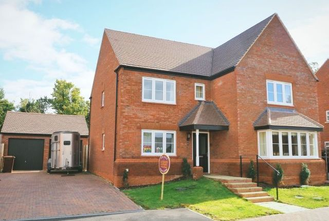 Thumbnail Detached house for sale in Champions Field Way, Flore, Northampton