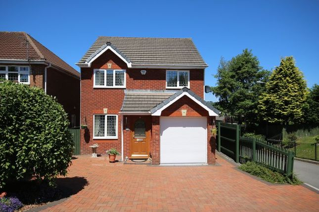Thumbnail Detached house for sale in Tir Berllan, Oakdale, Blackwood