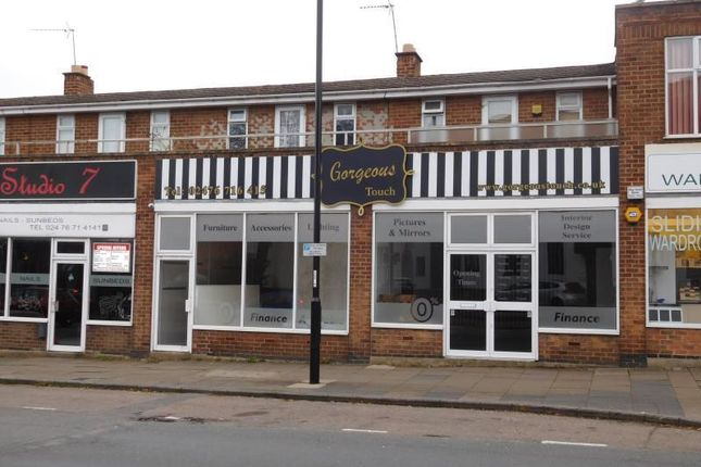 Thumbnail Retail premises to let in 9-11, Hearsall Lane, Coventry