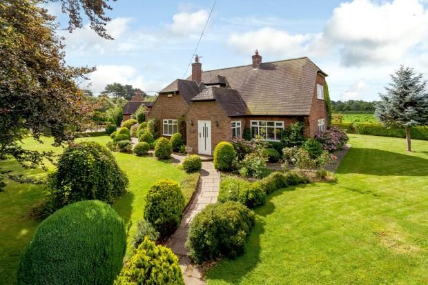 Thumbnail Detached house for sale in Littleton, Chester, Cheshire