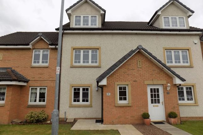 Thumbnail Town house for sale in Thornlea Gardens, Airdrie