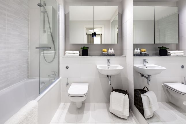 Bathroom of Aston Place, 100 Suffolk Street, Birmingham B1