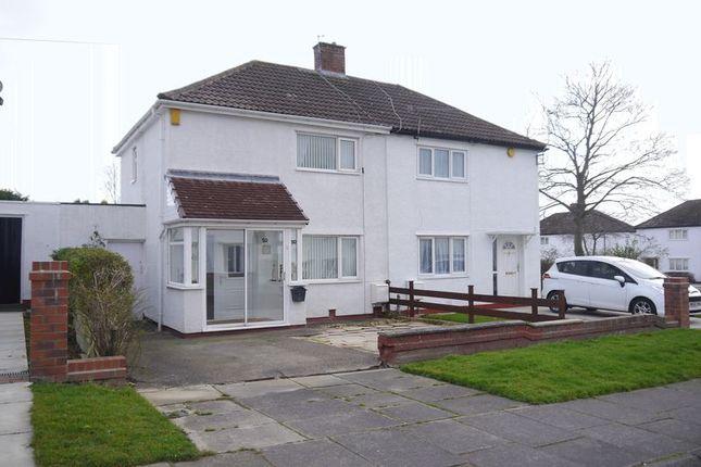 Thumbnail Semi-detached house to rent in Coanwood Drive, Cramlington
