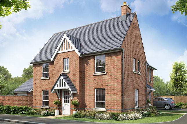 """Thumbnail Semi-detached house for sale in """"Morpeth"""" at Beggars Lane, Leicester Forest East, Leicester"""