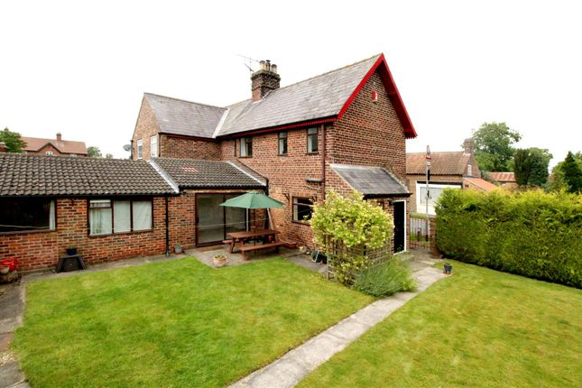 Thumbnail Semi-detached house for sale in Main Street, Garton-On-The-Wolds, Driffield