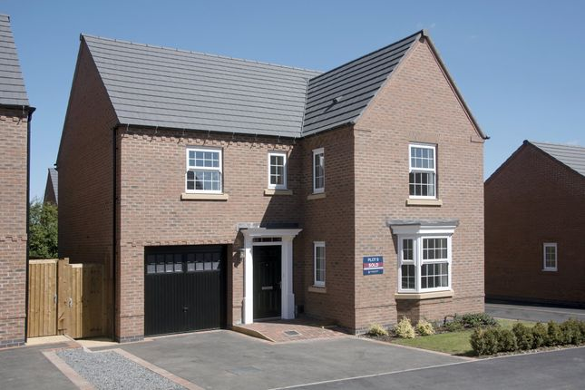 "Thumbnail Detached house for sale in ""Exeter"" at Harbury Lane, Heathcote, Warwick"