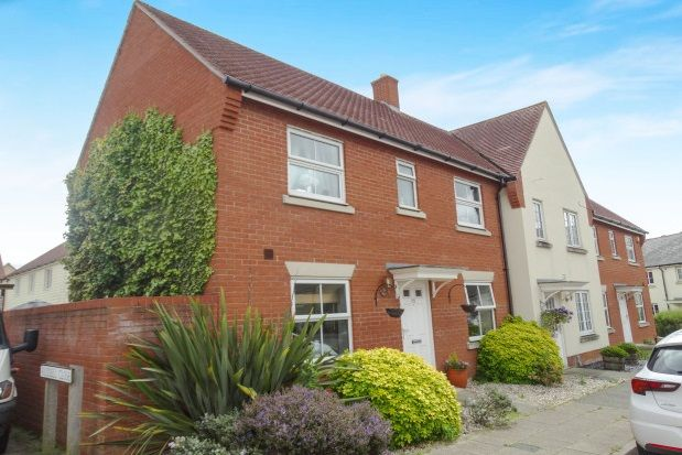 Thumbnail Terraced house to rent in Baker Way, Witham