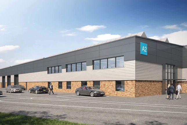 Thumbnail Warehouse to let in Units & Fleets Corner Business Park, Poole