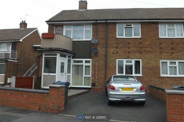 Thumbnail Maisonette to rent in Sutton Crescent, West Bromwich