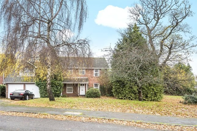 Thumbnail Detached house for sale in Corfield Close, Finchampstead, Wokingham, Berkshire