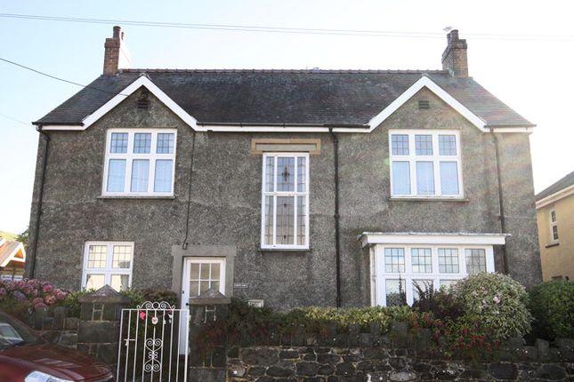 Thumbnail Detached house for sale in Celynin Road, Llwyngwril, Gwynedd