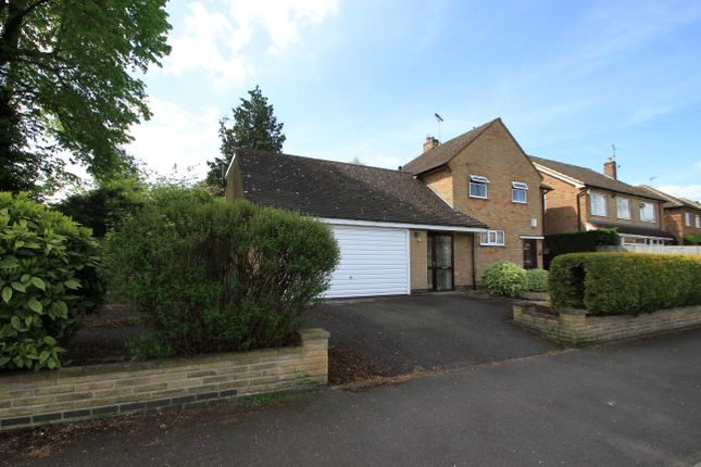 Thumbnail Detached house for sale in Glenfield Frith Drive, Glenfield, Leicester