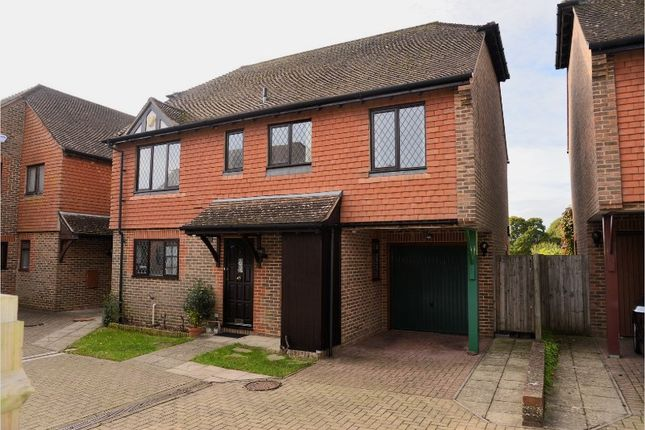 Thumbnail Detached house for sale in Swan Close, Lewes