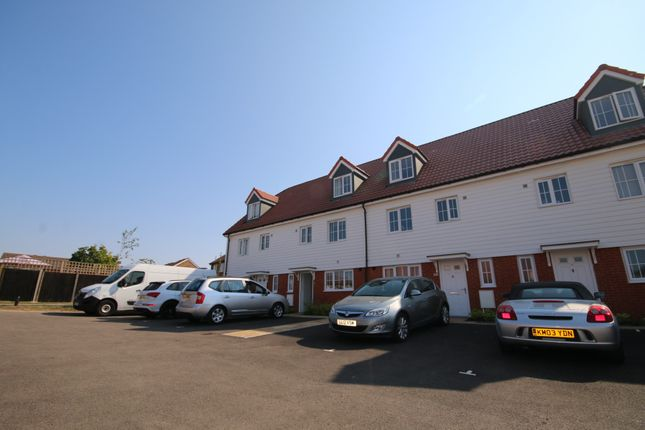 Thumbnail Terraced house to rent in Cherry Blossom Way, Aylesham, Canterbury