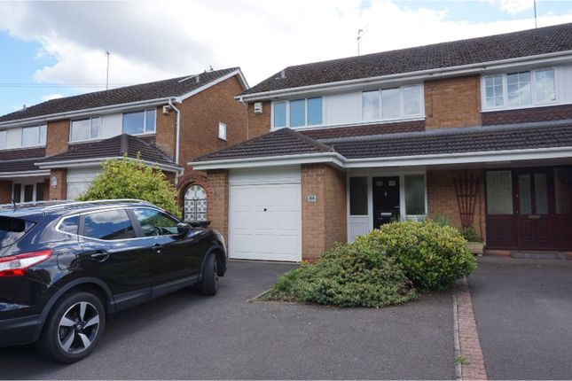 Thumbnail Semi-detached house to rent in Overend Road, Halesowen