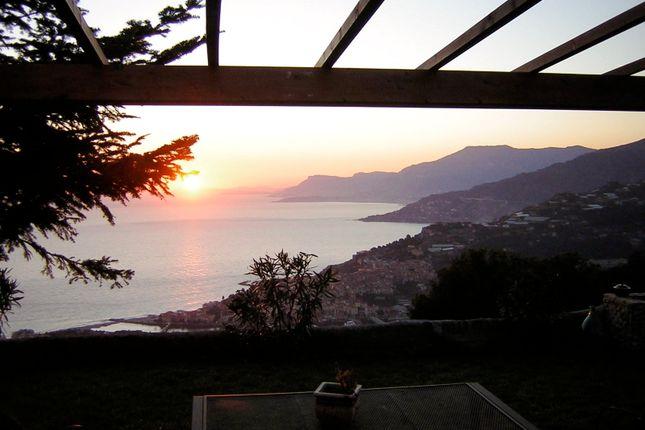 View By Night of Località S. Giacomo Ca 60, Camporosso, Imperia, Liguria, Italy