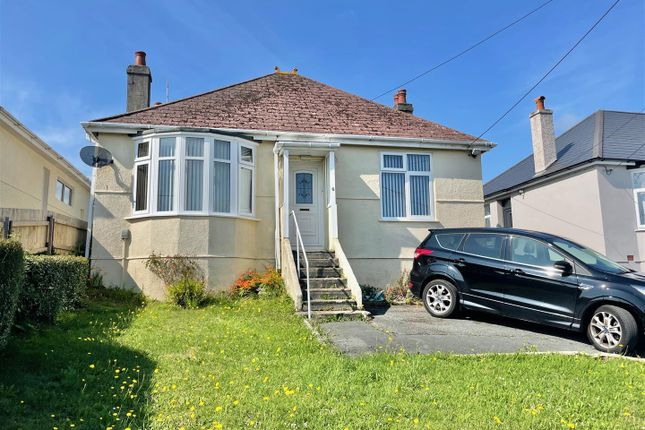 Thumbnail Detached bungalow for sale in Staddon Park Road, Plymstock, Plymouth